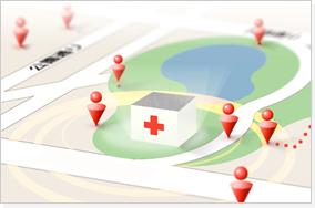 診療圏・競合医院調査を行い何をPRすべきかご提案